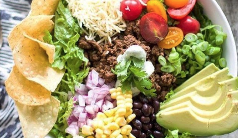 QUICK & HEALTHY: TACO SALAD