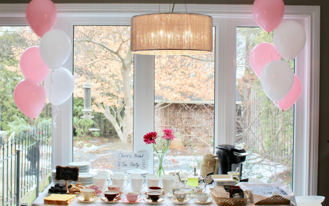 How To Throw A Tea Party Themed Bridal Shower