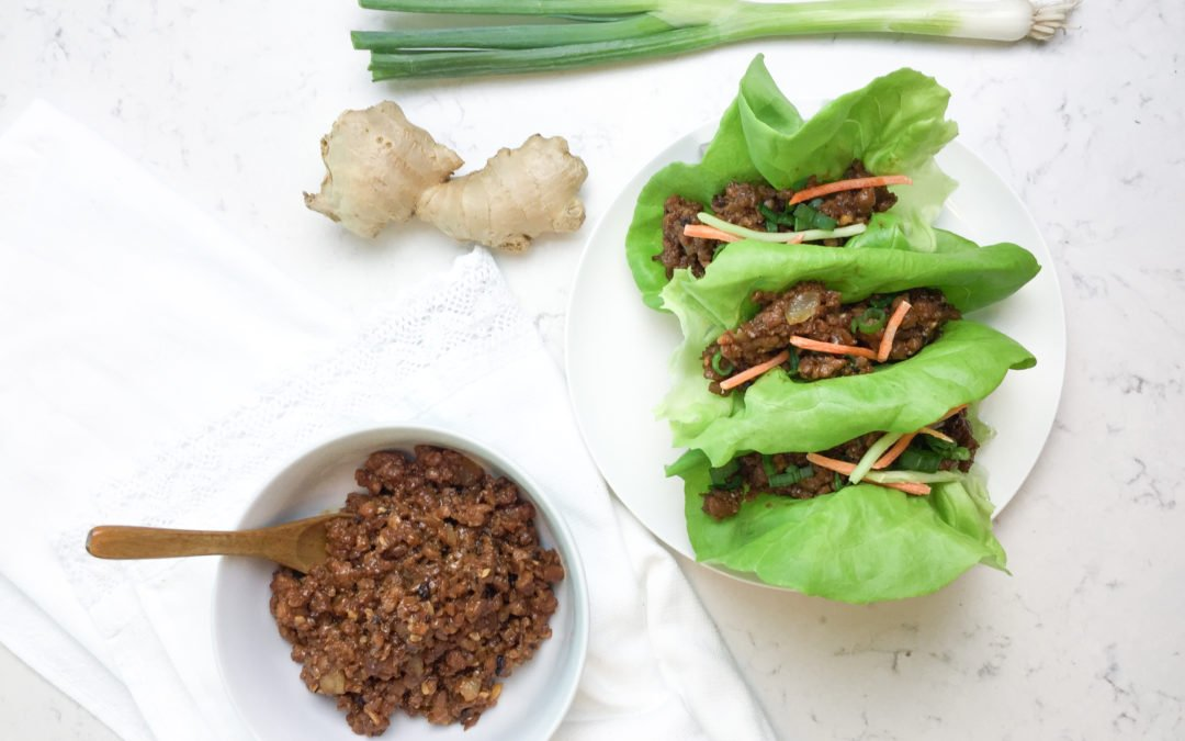 VEGGIE ASIAN TACO LETTUCE WRAPS